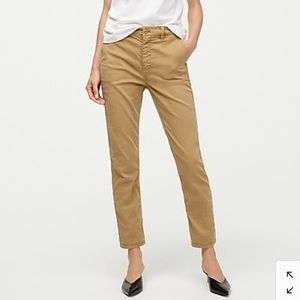 J.Crew Straight-Leg Pant in Stretch Chino